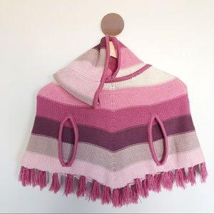 Gap Kids Knit Poncho Cardigan Sweater